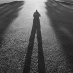 Photographing long shadows